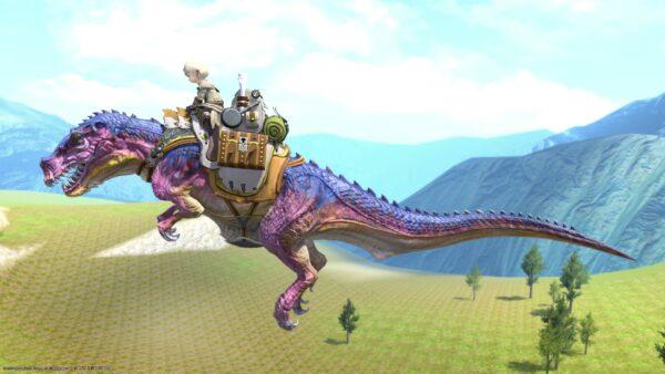 ティラノサウルス_飛行時